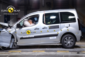 Краш-тест Citroen Berlingo 2014
