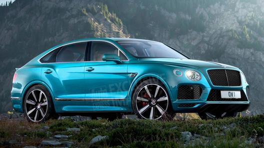 Bentley готовит к выходу кросс-купе