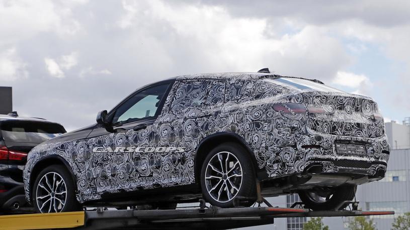 Новый БМВ  X5 проходит дорожные тестирования