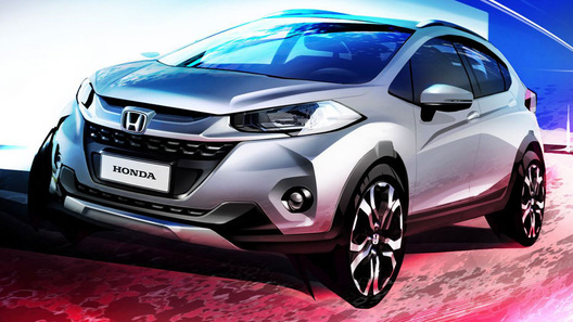 Появилась информация о новом компактном вседорожнике от Honda