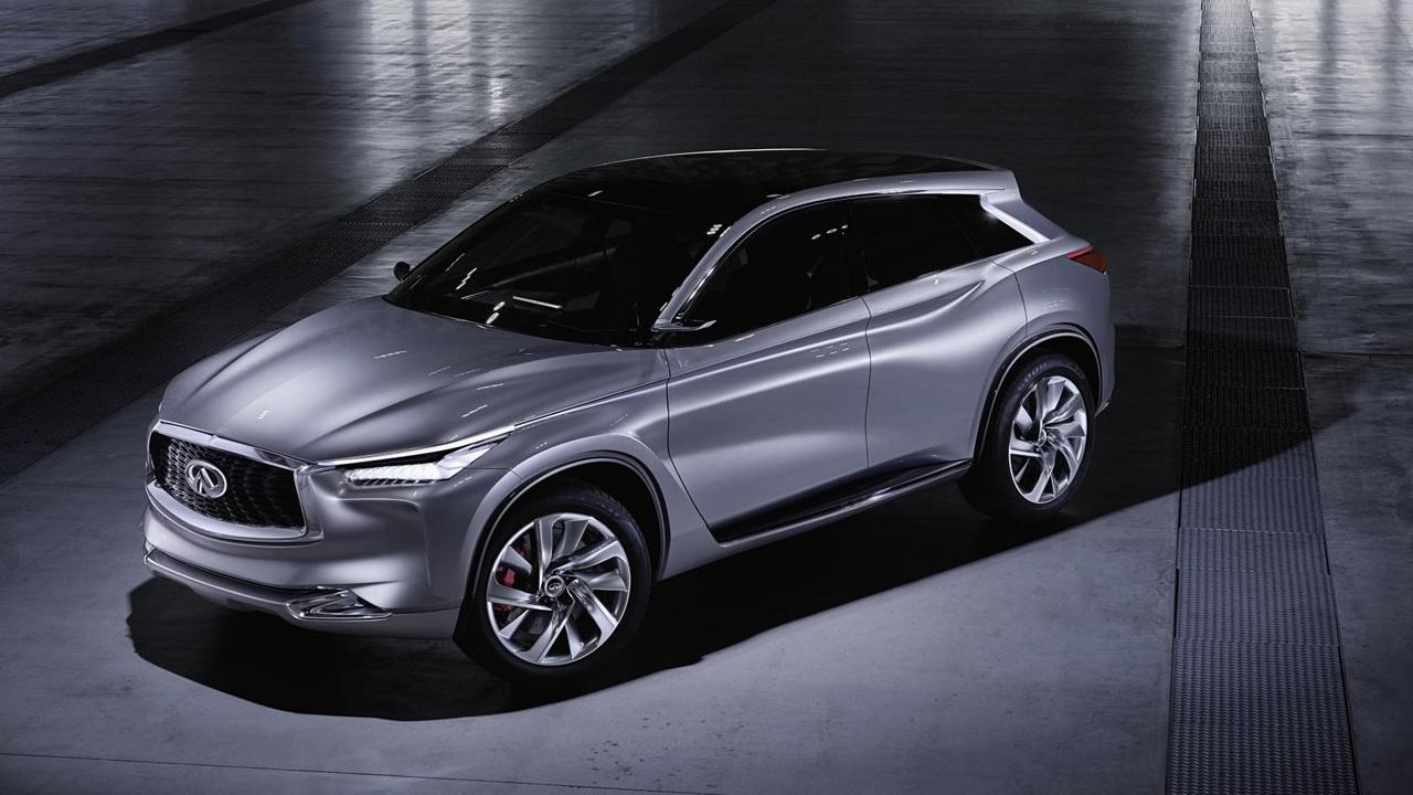 Инфинити официально рассекретила концептуальный паркетник QX50 Concept