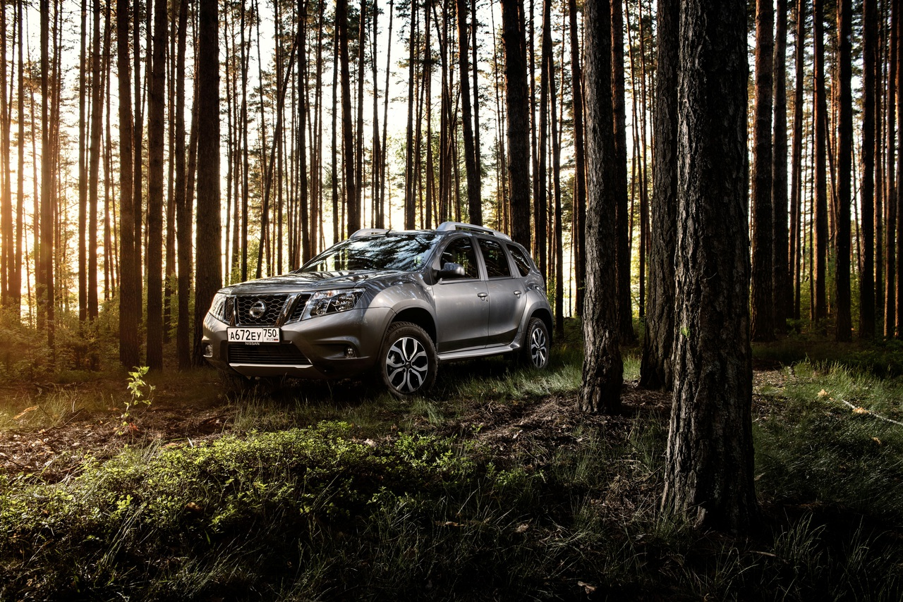Nissan привез в Россию обновленный Terrano