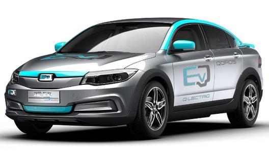 Компания Qoros готовит кпрезентации 1-ый электромобиль