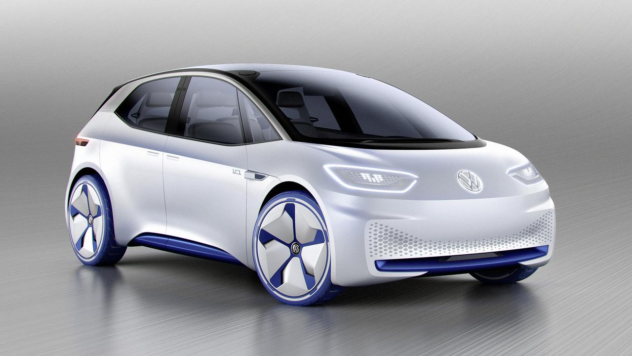 Фольксваген продемонстрировал концептуальный автомобиль хэтчбека сэлектродвигателем