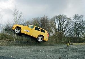 Volvo XC90 публичный краш-тест